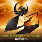 لپتاپ گیمینگ Bravo 15 شرکت MSI با پردازندههای سری H رایزن ۵۰۰۰ از راه رسید