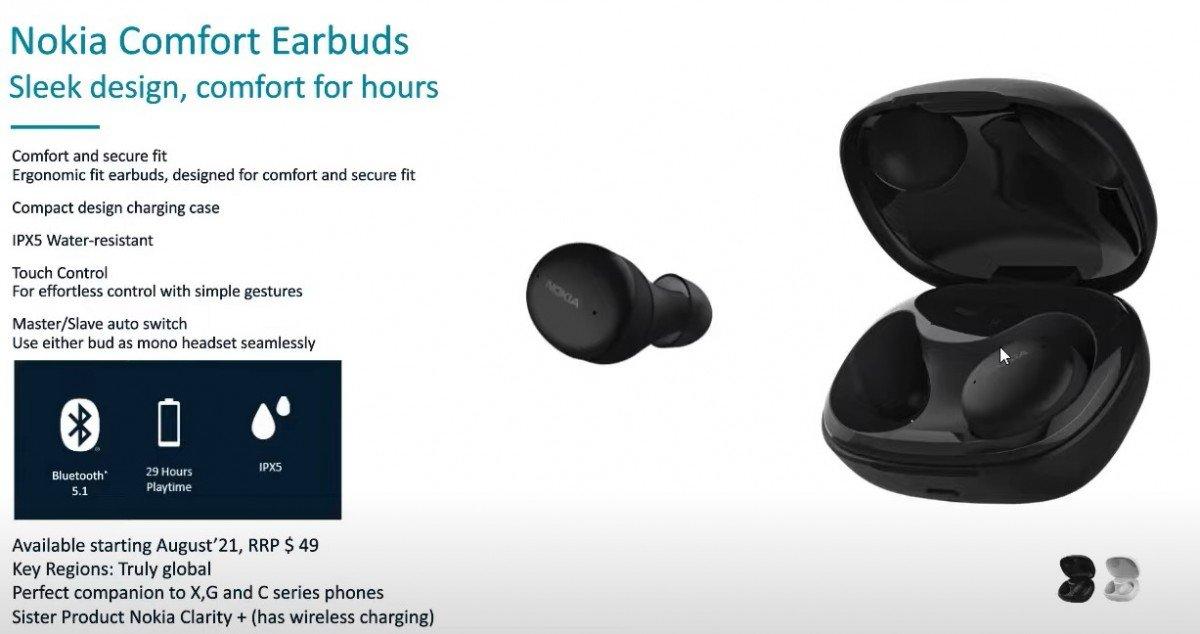 ایرباد بیسیم نوکیا Comfort Earbud