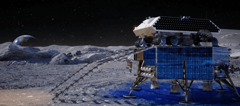 توسعه سیستم راکتی استخراج آب برای سکونت در ماه [تماشا کنید]