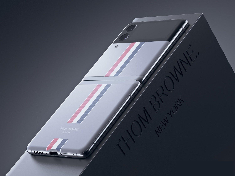 رندرهای مدل لوکس تام براون گوشی گلکسی زد فلیپ ۳ منتشر شد