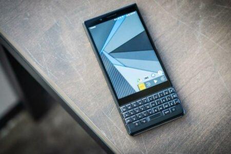 گوشی 5G بلکبری با کیبورد فیزیکی احتمالا در راه است