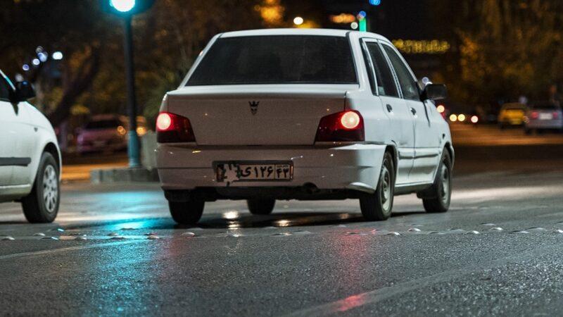 جریمه دستکاری پلاک خودرو