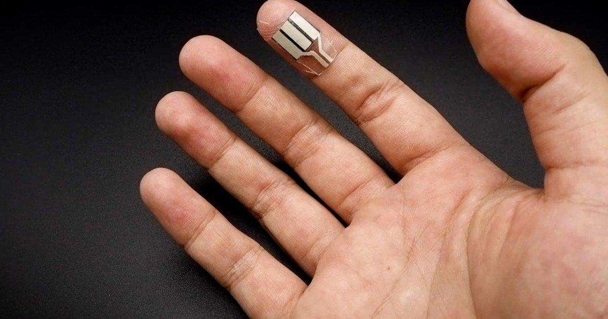 عرق انگشتان
