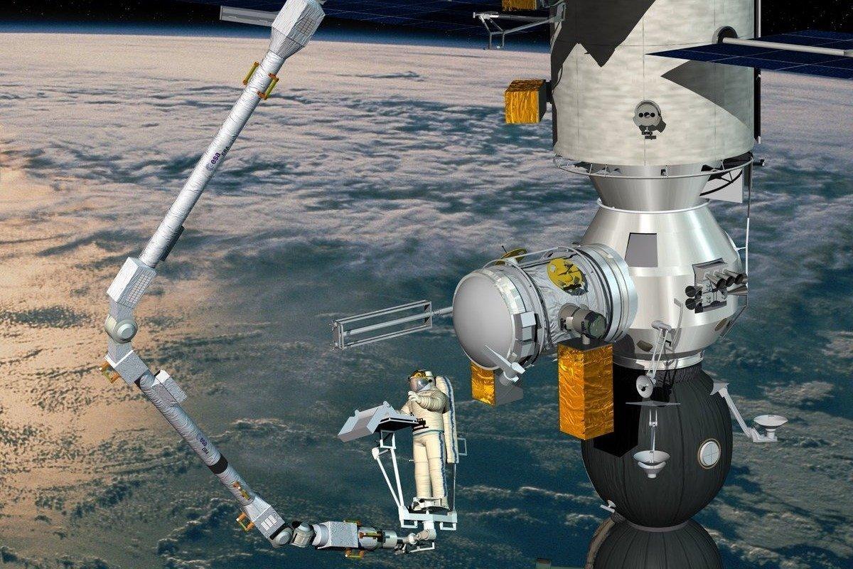 ایستگاه فضایی بینالمللی بهزودی به یک بازوی رباتیک جدید مجهز میشود
