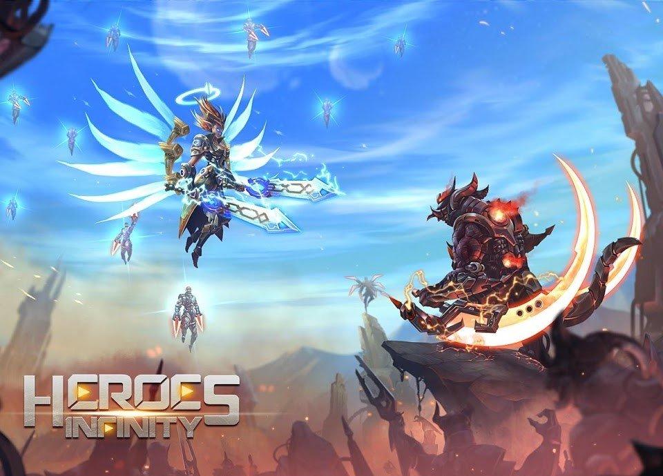 معرفی بازی Heroes Infinity؛ داستان جنگجوی کوه المپ