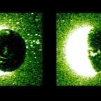 مدارگرد امید امارات توانست اولین عکس از شفقهای سیاره سرخ را ثبت کند
