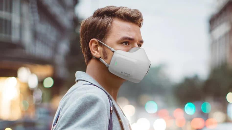 ماسک تصفیه هوا