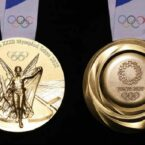 اولین مدال طلای المپیک ۲۰۲۰ توکیو ساخته شده از لوازم الکترونیکی بازیافتی اهدا شد
