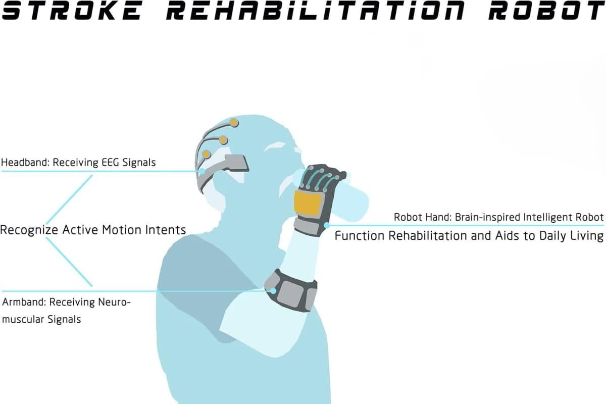 توسعه سیستم رباتیک با هدف کمک به بازیابی توان حرکتی بازماندگان سکته مغزی