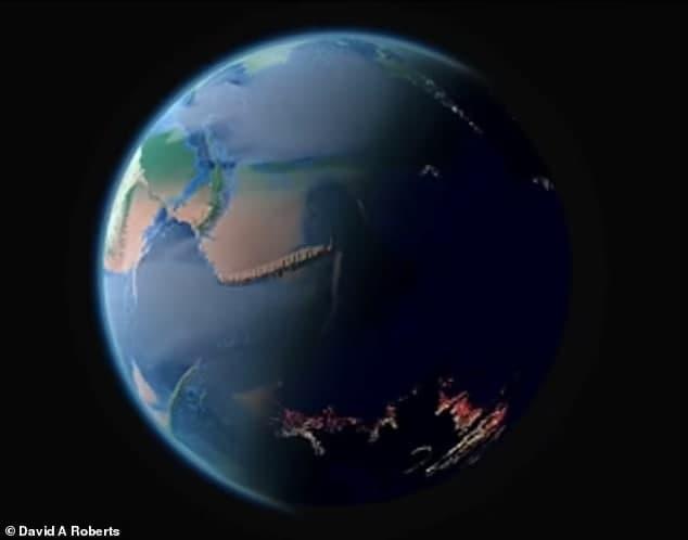شبیه سازی تکامل زمین از ۴ میلیارد سال قبل تاکنون [تماشا کنید]