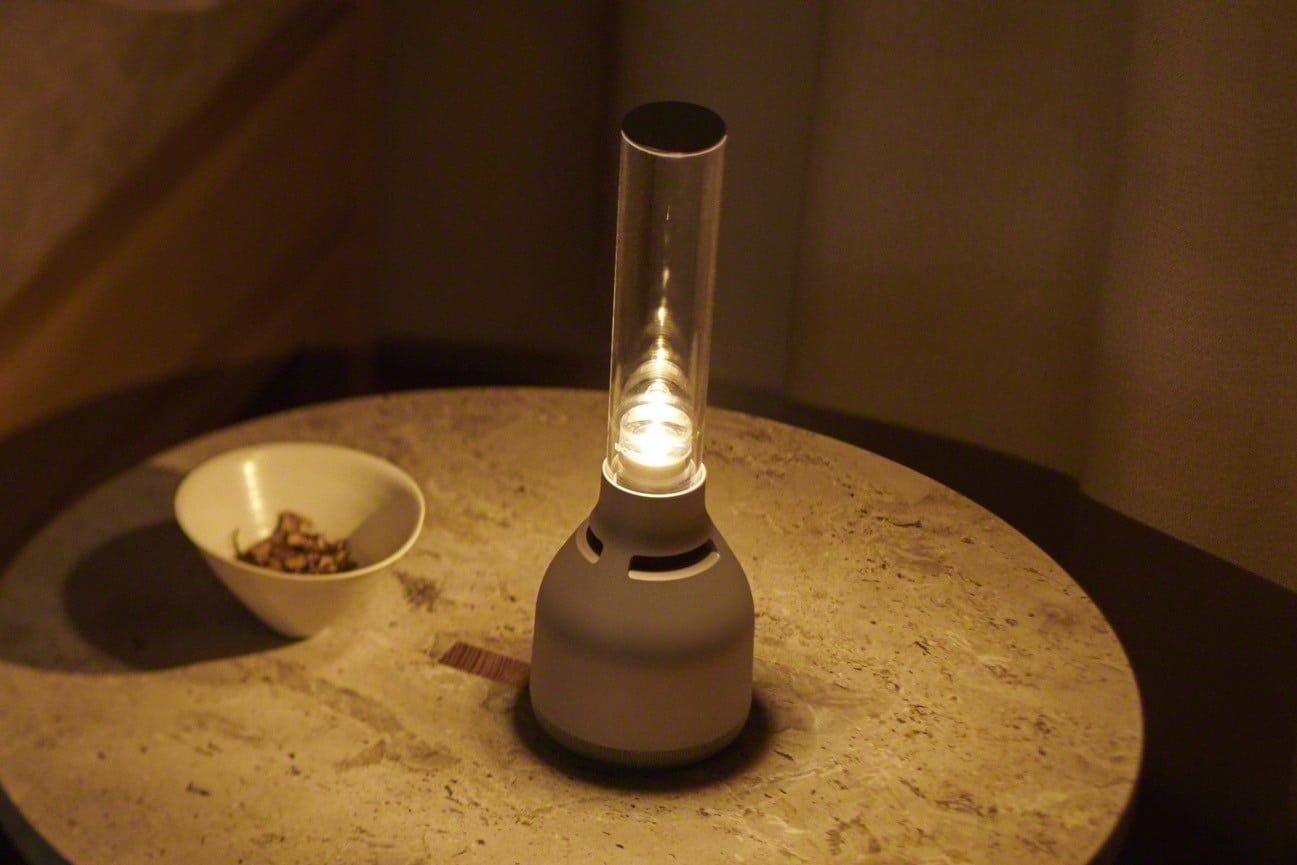 سونی از اسپیکر بیسیم «LSPX-S3» با طراحی شبیه شمعدان رونمایی کرد