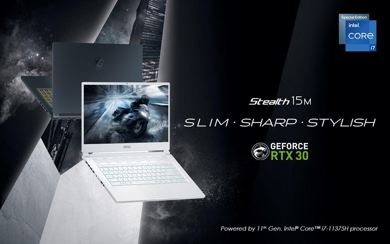 لپ تاپ MSI Stealth 15M؛ باریکترین لپ تاپ گیمینگ جهان در دسترس کاربران ایرانی
