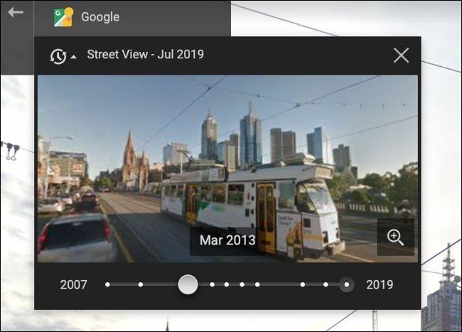 گوگل استریت ویو سفر در زمان