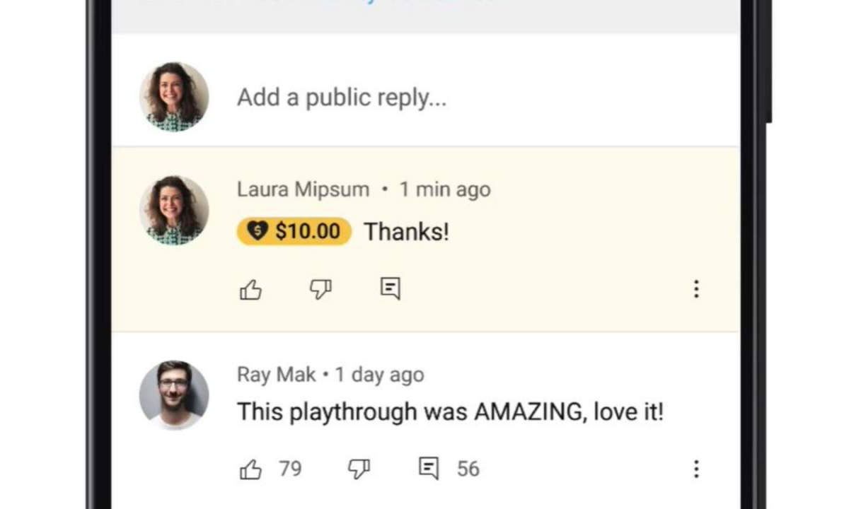یوتیوب ویژگی Super Thanks را برای حمایت مالی از تولیدکنندگان محتوا معرفی کرد