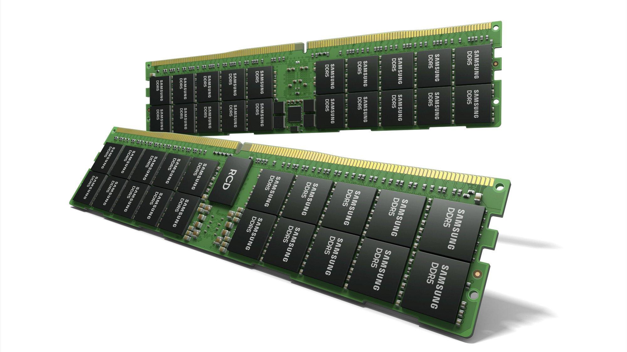 سامسونگ احتمالا میخواهد ماژول حافظه ۷۶۸ گیگابایتی DDR5 بسازد