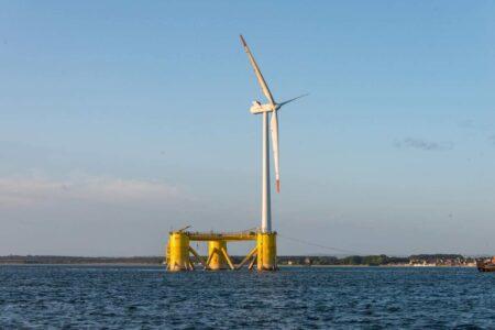 بزرگترین مزرعه بادی دریایی شناور دنیا تکمیل شد
