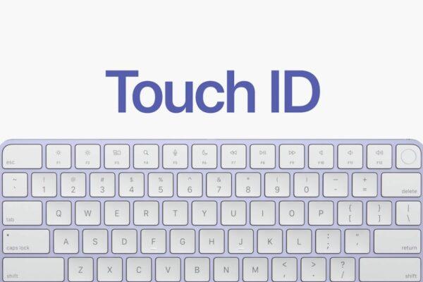اپل مجیک کیبورد مجهز به تاچ آیدی را به صورت جداگانه میفروشد