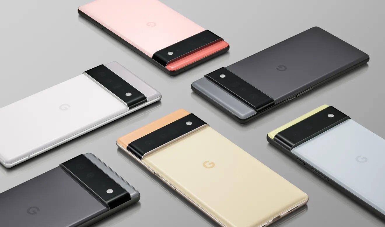 گوگل گوشیهای سری پیکسل ۶ را به نمایش گذاشت: طراحی تازه با چیپ اختصاصی