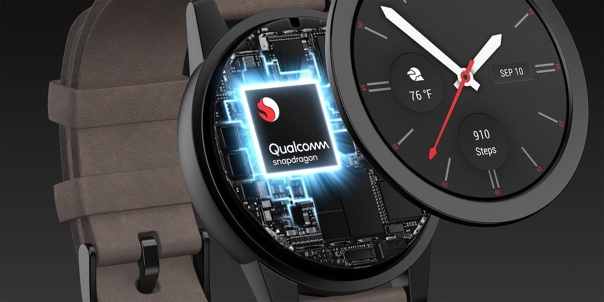 کوالکام روی تراشه اسنپدراگون Wear 5100 برای ساعتهای هوشمند کار میکند