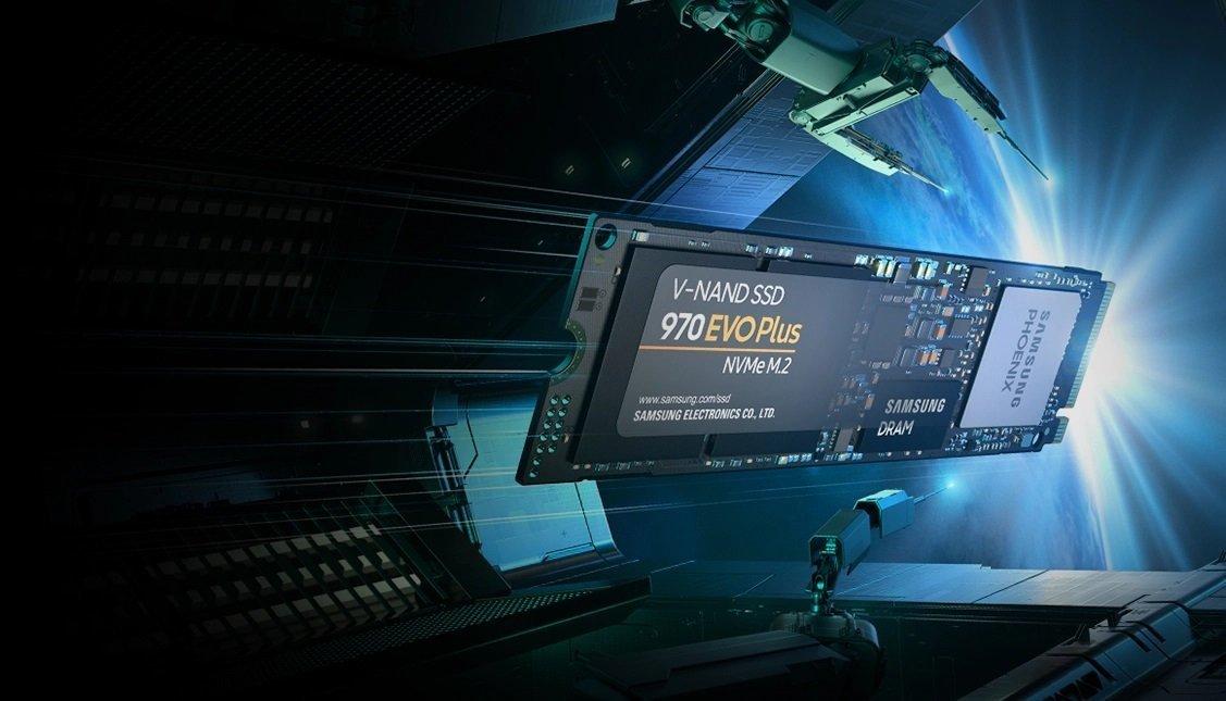 سامسونگ بیسروصدا کنترلر 970 EVO Plus SSD را به PCIe Gen 4 ارتقا داد