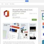 مایکروسافت پشتیبانی از اپلیکشن اندروید آفیس برای کروم اواس را متوقف میکند