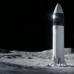 ناسا به دلیل شکایت بلو اوریجین، پروژه ماهنشین اسپیس ایکس را متوقف کرد
