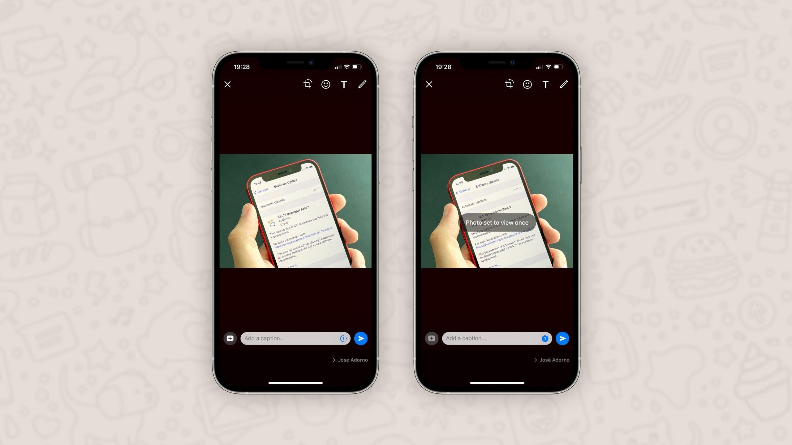 واتساپ با قابلیت «یک بار مشاهده» تصاویر و ویدیوها بروزرسانی شد