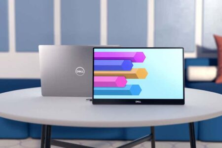شرکت Dell از اولین مانیتور ۱۴ اینچی قابل حمل خود رونمایی کرد
