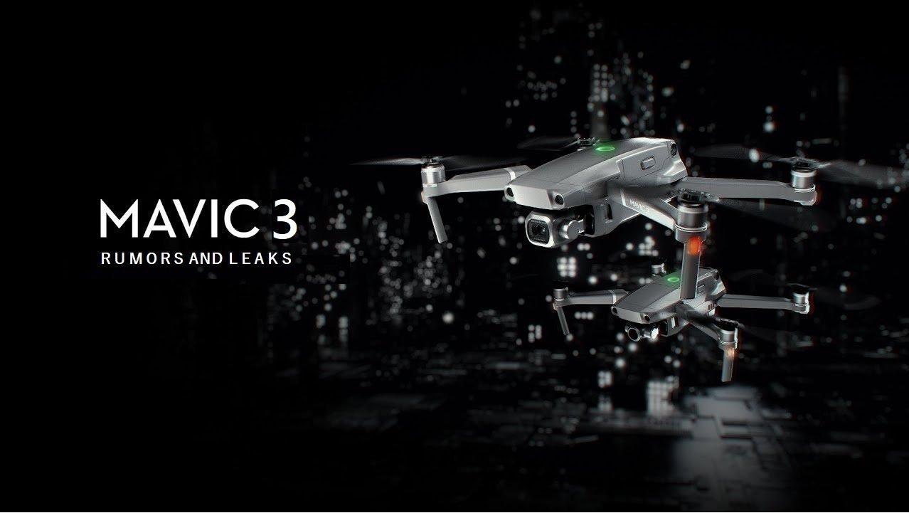 طراحی و مشخصات کلیدی پهپاد DJI Mavic 3 افشا شد