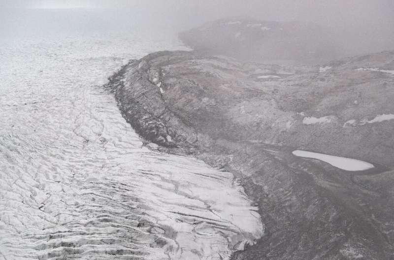 ذوب قابل توجه دومین پهنه یخی بزرگ دنیا در پی موج گرما