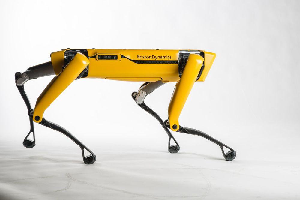 ربات اسپات بوستون دینامیکس