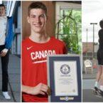 روزیاتو: پسر کانادایی قدبلندترین نوجوان جهان شد