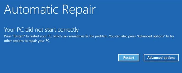 اخباربا این هفت روش ارور Your PC Did Not Start Correctly را برطرف کنید