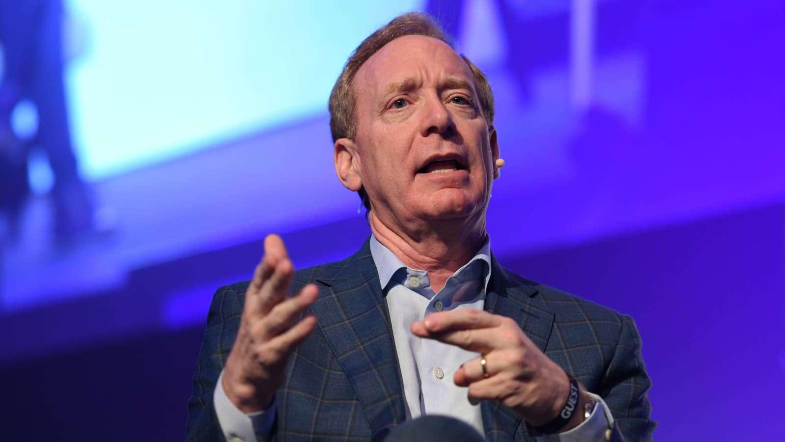 «برد اسمیت» نایب رئیس هیئت مدیره مایکروسافت شد