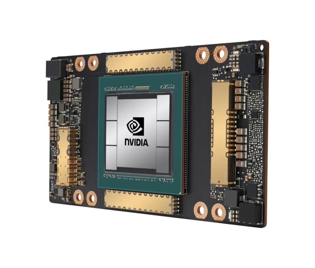 پردازنده گرافیکی GA100 انویدیا