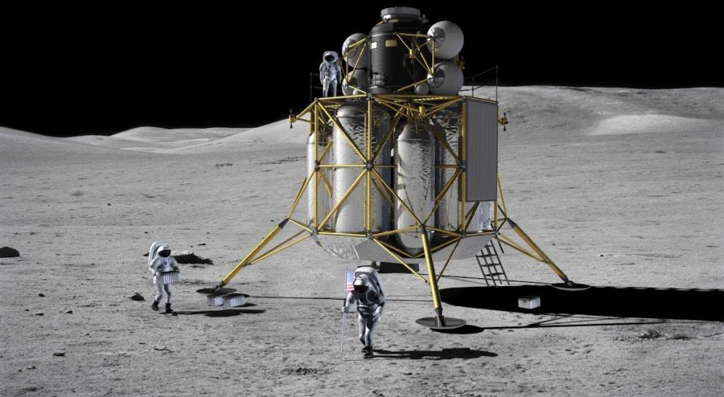 اسپیس ایکس و بلو اوریجین برای طراحی ماهنشین آرتمیس از ناسا بودجه میگیرند