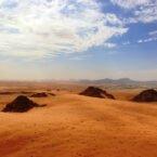تغییرات اقلیمی در دوران باستان، موجب مهاجرت انسانهای اولیه به بیابان عربستان شده است