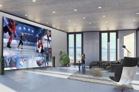تلویزیون ۳۲۵ اینچی الجی DVLED برای رقابت با The Wall سامسونگ معرفی شد