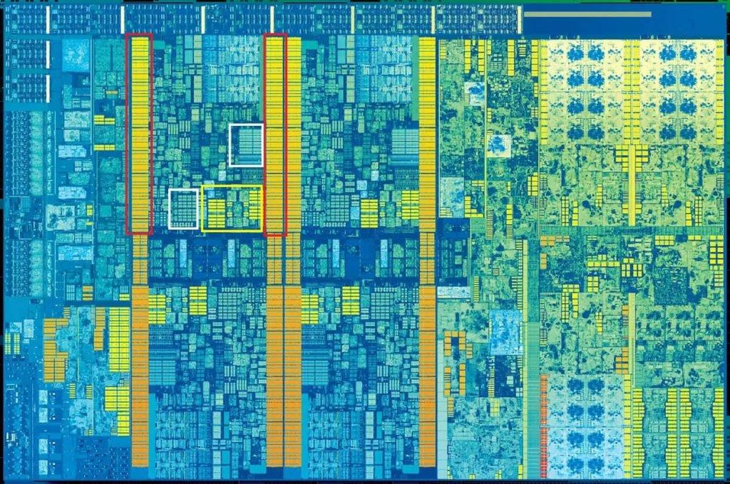 یکی از تراشههای سیپییوی پردازنده کبی لیک (Kaby Lake)
