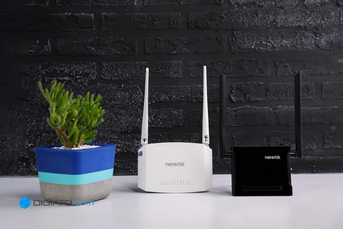 معرفی مودم روترهای +ADSL2 نتربیت