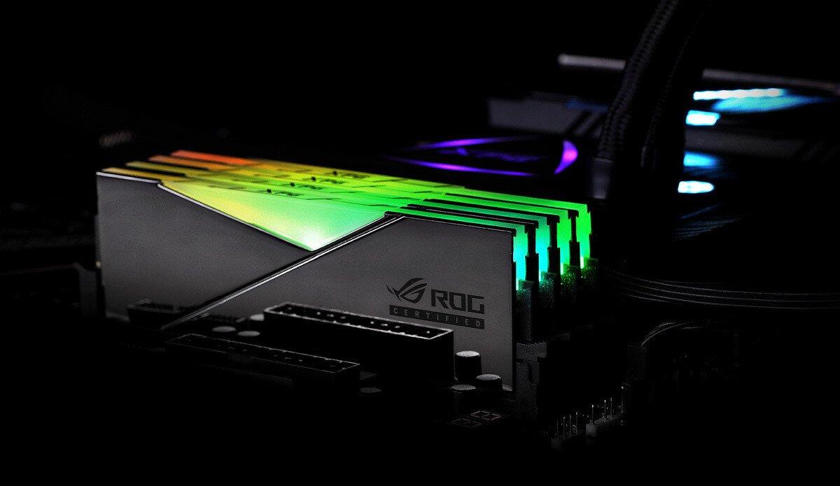 ایدیتا از ماژول رم SPECTRIX D50 DDR4 RGB با گواهی ROG رونمایی کرد