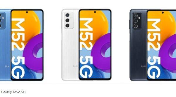 سامسونگ از معرفی گلکسی M52 5G در تاریخ ۶ مهر ماه خبر داد