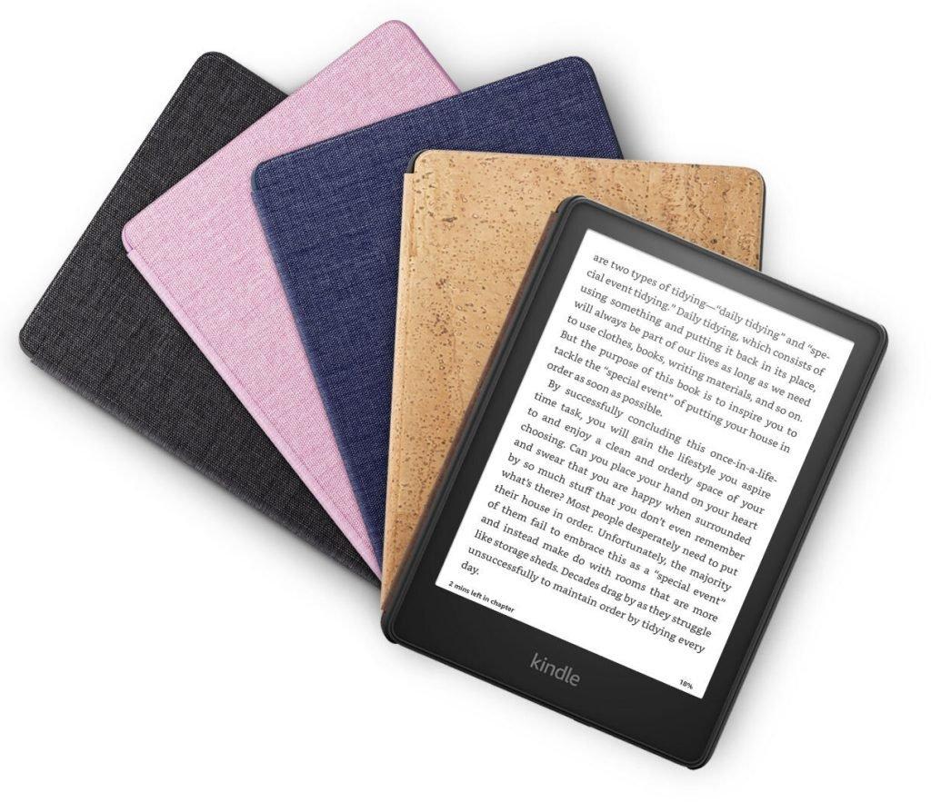 آمازون از نسل جدید کتابخوان کیندل پیپروایت با پورت USB-C رونمایی کرد