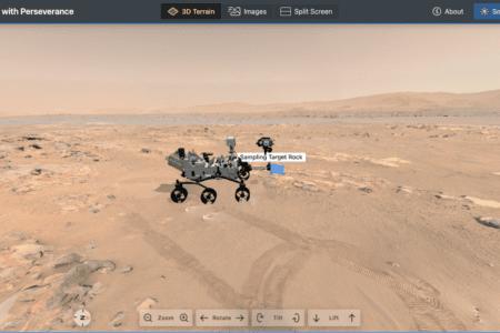 شبیهساز و نقشه موقعیت دقیق مریخنورد استقامت به وبسایت ناسا اضافه شد
