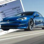 تسلا مدل S Plaid رکورد سریعترین خودروی تولید انبوه برقی جهان را در پیست نوربرگرینگ شکست