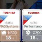 توشیبا از اولین هاردهای ۱۸ ترابایتی جهان با فناوری FC-MAMR رونمایی کرد