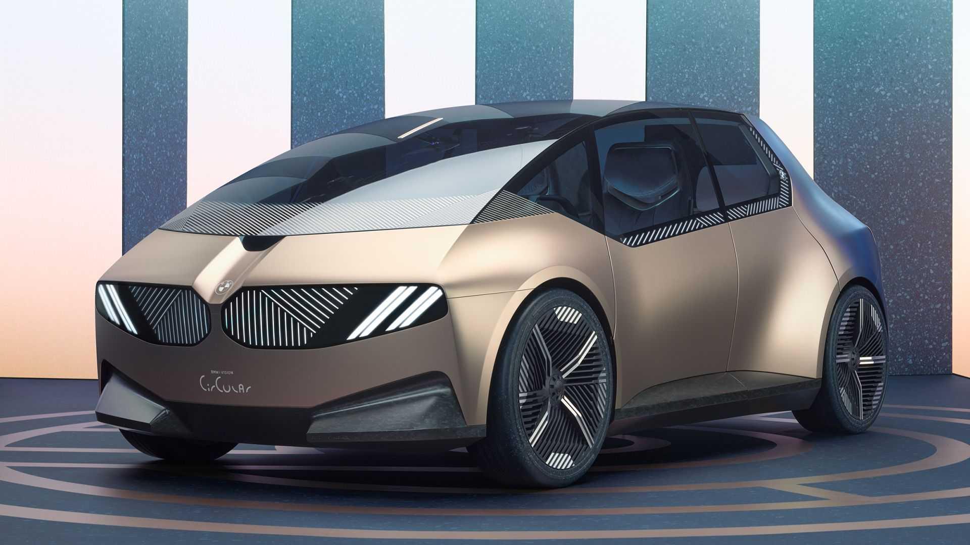 بامو i Vision Circular معرفی شد؛ کانسپتی از یک خودروی شهری قابل بازیافت