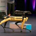 ربات بوستون داینامیکس با تشخیص موانع، مسیر خود را تغییر میدهد