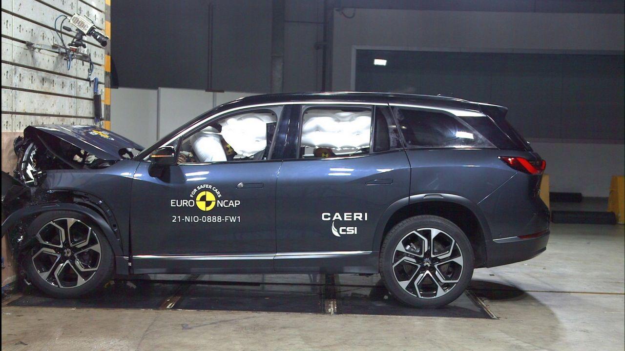 دستیابی خودروسازان چینی به بالاترین سطح ایمنی؛ تست تصادف 5 ستاره برای NIO ES8 و لینک اند کو 01