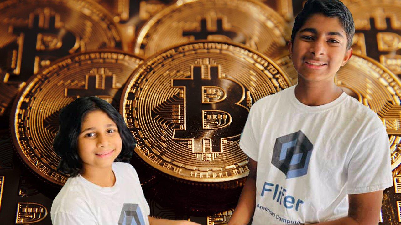 درآمد ماهانه ۳۰ هزار دلاری خواهر و برادر ۹ و ۱۴ ساله از استخراج رمزارز با انرژی تجدیدپذیر
